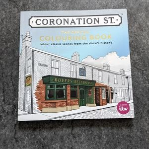 FREE ADD ON 🔥 Novelty Coronation Street coloring book